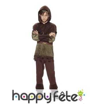 Costume robin des bois pour enfant, premier prix