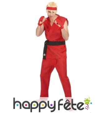 Costume rouge de Ken, Street Fighter