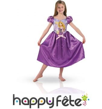 Costume Raiponce pour fillette