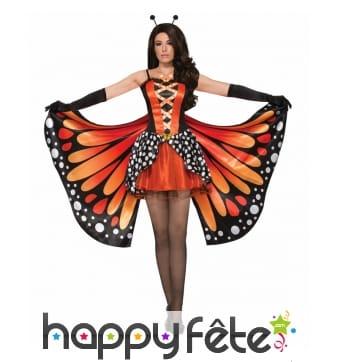 Costume robe papillon pour femme