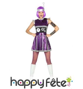 Costume robe robot futuriste