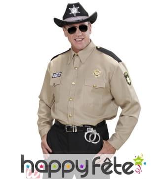 Chemise sheriff