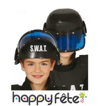 Casque SWAT anti émeute pour enfant