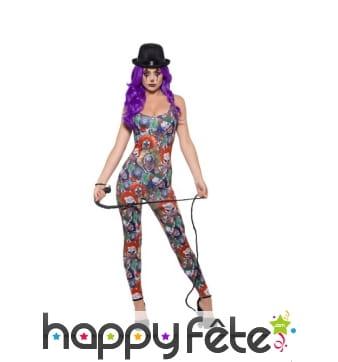 Combinaison sexy de Creepy le clown