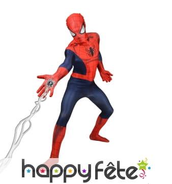 Combinaison Spiderman en réalité augmentée