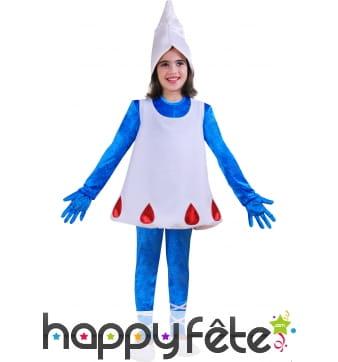 Costume Schtroumpfette enfant