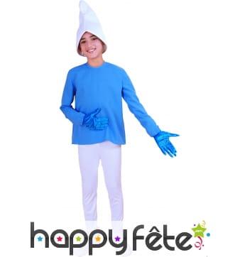 Costume Schtroupf enfant