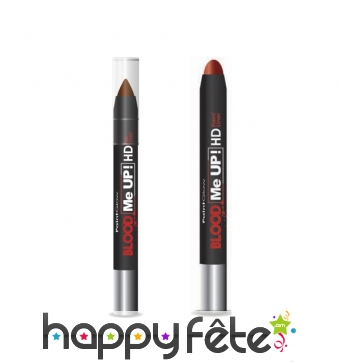 Crayon stick liner faux sang