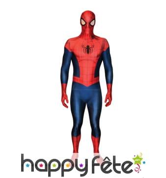 Combinaison spiderman Morphsuit, version luxe