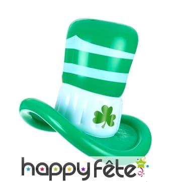 Chapeau Saint Patrick gonflable de 50cm