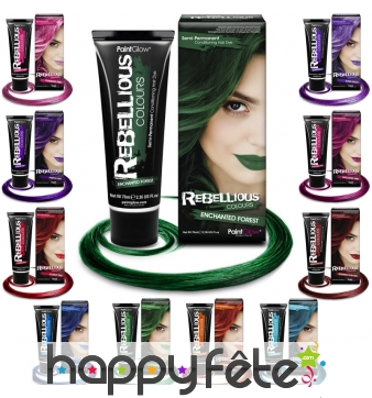 Coloration semi permanente pour cheveux, 70ml