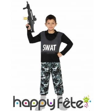 Combinaison SWAT pour enfant