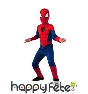 Costume spiderman pour enfant