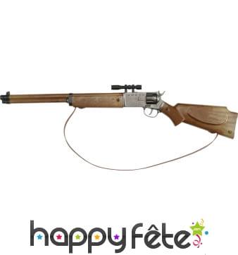 Carabine style western avec viseur