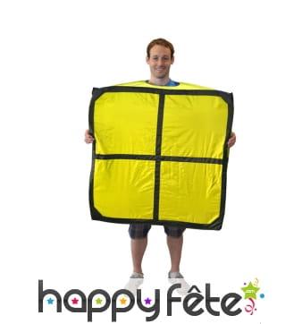 Costume Tetris en forme de O, Morphsuit