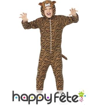Combinaison tigre pour enfant