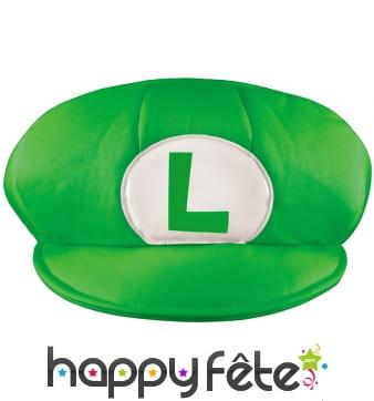 Casquette verte de Luigi pour homme