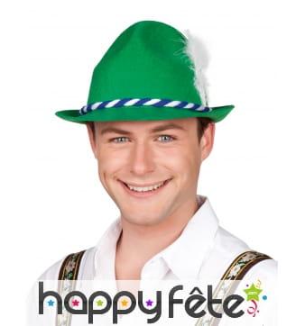 Chapeau vert de tyrolien