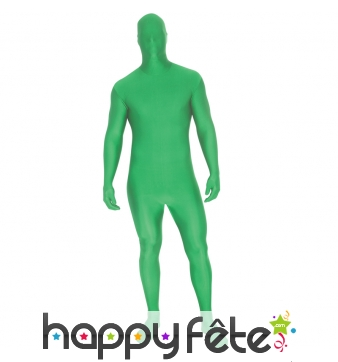 Costume vert Morphsuit premier prix