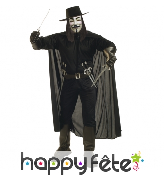 Costume V pour vendetta version luxe