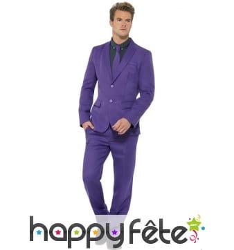 Costume violet uni