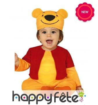 Combinaison Winnie l'ourson pour bébé