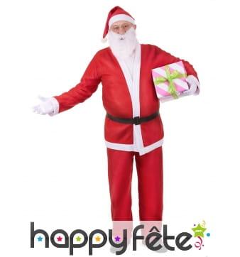 Déguisement 5 pièces de Père Noël