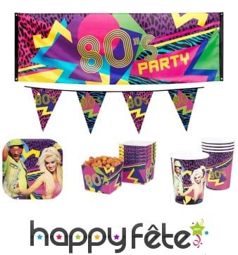 Décos 80's Party