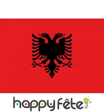 Drapeau Albanie (40x50)