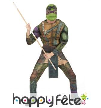 Déguisement adulte de Donatello, Tortues Ninja
