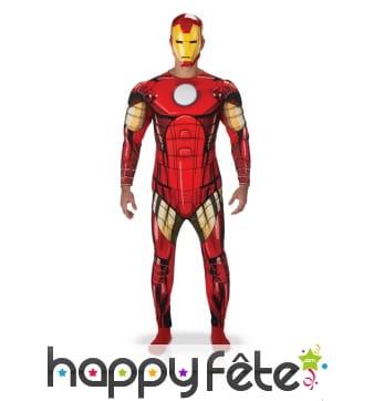 Déguisement adulte de Iron Man version luxe