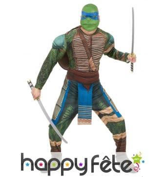 Déguisement adulte de Léonardo, Tortues Ninja