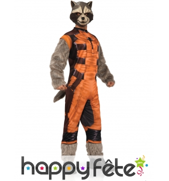 Déguisement adulte de Rocket Raccoon