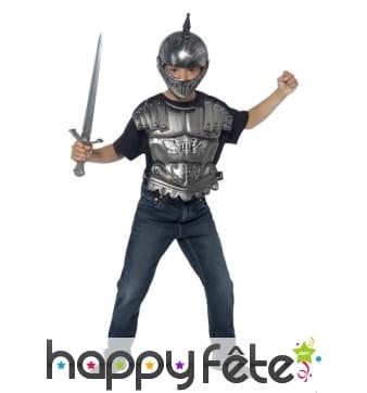 Déguisement armure médiévale pour enfant