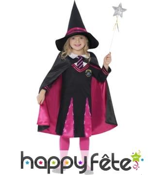 Déguisement apprentie sorcière pour enfant