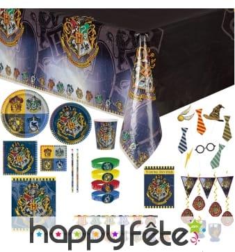 Décoration anniversaire thème Harry Potter