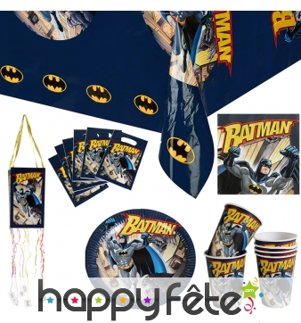 Décorations Batman classic d'anniversaire