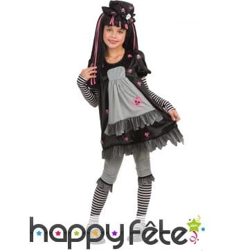 Deguisement black dolly pour enfant