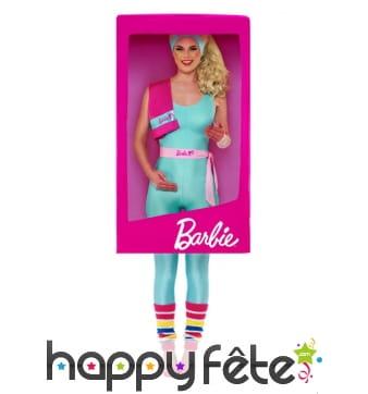 Déguisement boite de Barbie
