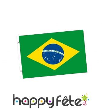 Drapeau Brésil de 150 x 90 cm