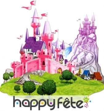 Décor château de princesse