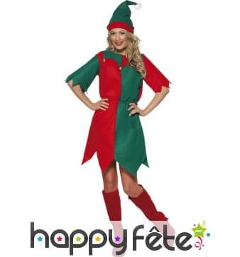 Déguisement costume d'elfe
