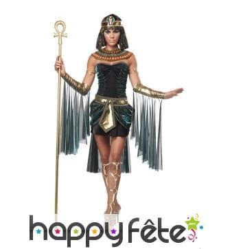 Déguisement court de déesse égyptienne