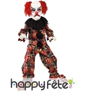 Déguisement clown effrayant