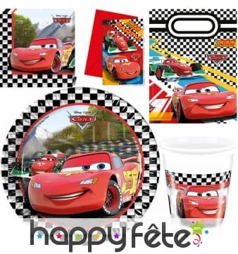 Décorations Cars formula d'anniversaire