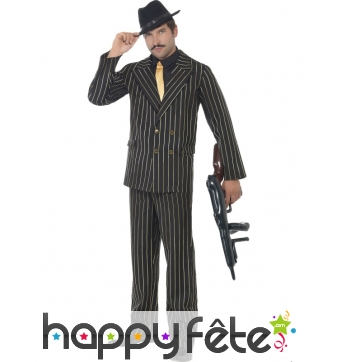Déguisement costume gangster homme