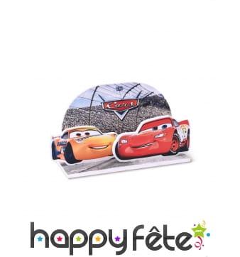 Décoration Cars pour gâteau, 15 x 8,5 cm