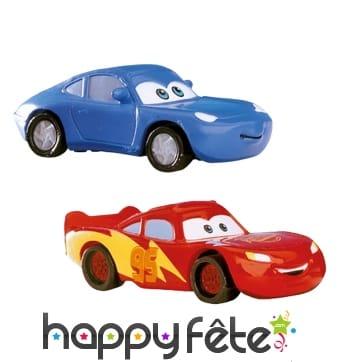 Décoration Cars pour gâteau en kit. PVC
