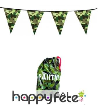 Décorations camouflage pour anniversaire