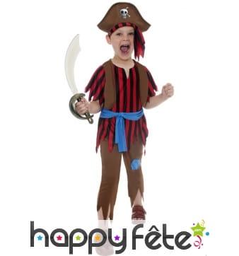 Déguisement corsaire pirate enfant